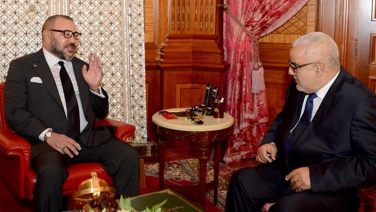 benkirane_mohammed_vi_maroc_legislatives_7_octobre