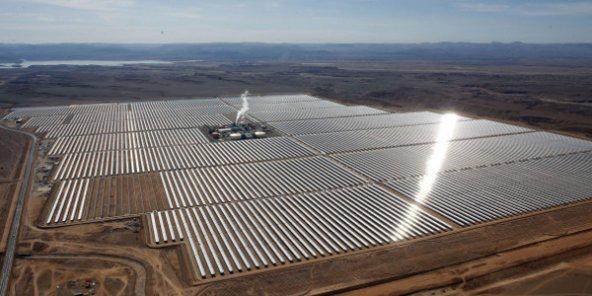 Au Maroc, dernière phase de construction pour Noor, la plus grande centrale solaire d'Afrique