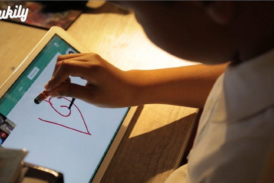 Edukily quand l'appel vidéo avec les enfants devient ludique et interactif