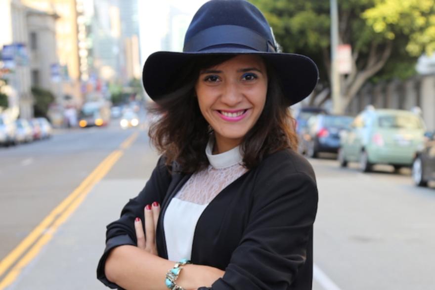 La marocaine Yasmine El Baggari, « social entrepreneur » de succès grâce à sa start-up Voyaj